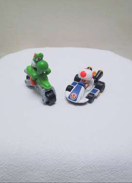 Figuras de Mario Kart de MCDonalds