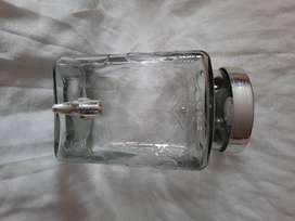 Dispensador de agua en cristal