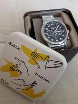 Reloj Fossil BQ2119 Pilot Reloj Con Cronógrafo De Acero Inoxidable