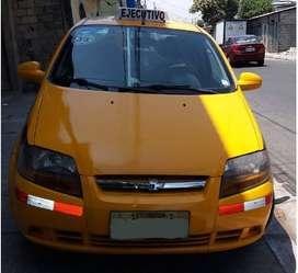 Taxi Ejecutivo Aveo Activo 2011