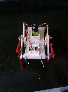 Maqueta Robot Seguidor de Luz