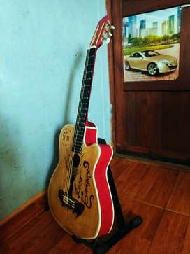 Guitarra clásica buen sonido