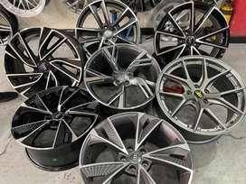 Rines 17 18 19 Audi importados case 112 -5 huecos
