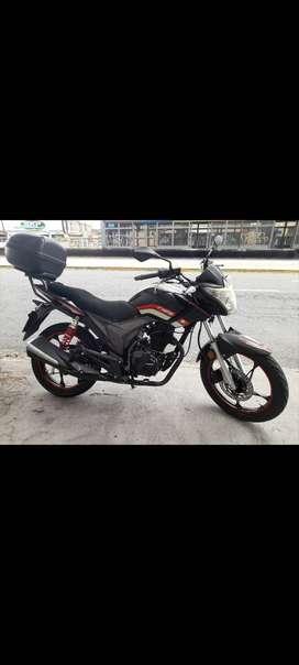 Vendo hermosa moto TUKO,  SOLO DUEÑO ,CERO ACCIDENTES, LLANTAS NUEVAS ,SOLO DUEÑO