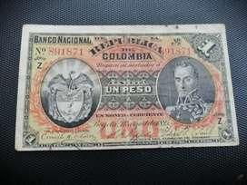 Vendo billetes de colección. De Colombia compro