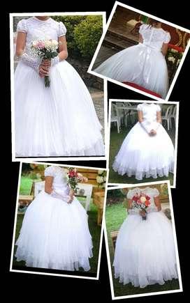 A la venta vestido de primera comunión