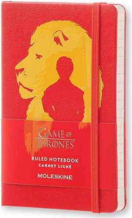 Moleskine Libreta Game Of Thrones Tapadura 9x14cms