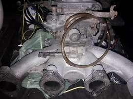 Carburador weber 2 bocas