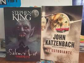 El estudiante + salem's lot - STEPHEN KING