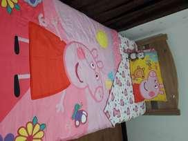 Juego de sábanas Peppa Pig