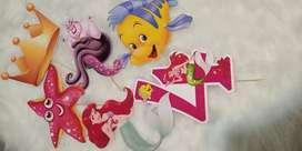 Kit / Combo Cumpleaños La Sirenita Ariel Disney Nena
