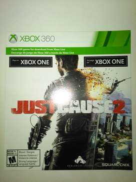 "Just Cause 2 DLC Xbox One ""Y/O 360"""