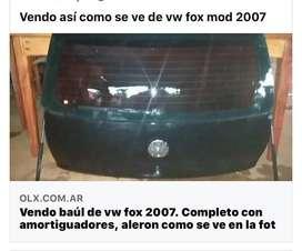 Baul de vw2007