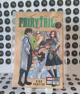 Manga Fairy Tail, tomo 3