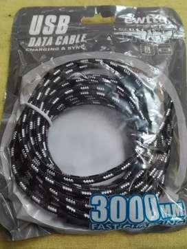 Cable de Usb carga rapida