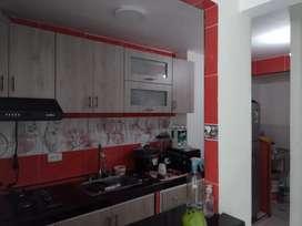 Venta de casa sala, 2 habitaciones, cocina, 2 pisos,