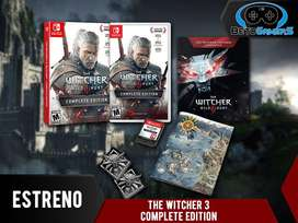 Videojuego The Witcher 3 Complete Edition para Nintendo Switch