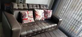 Vendo Sofa mas butaco reposapies por $200.000