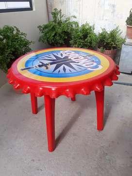 Mesa de plastico