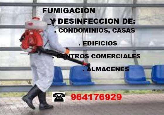 FUMIGACION Y DESINFECCION DE AMBIENTES 0