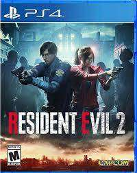 Resident Evil 2 Playstation 4 Ps4, Físico