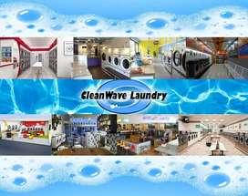 Genera ingresos con una franquicia de lavanderia