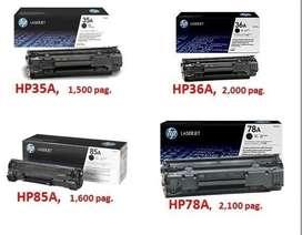 TONER HP 12A 35A 78A 85A 35A PARA IMPRESORAS LASER