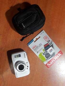 Nikon W100 Sumergible  Sd 16gb  Funda