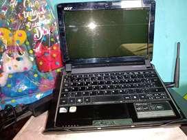 Acer computador con ventilador