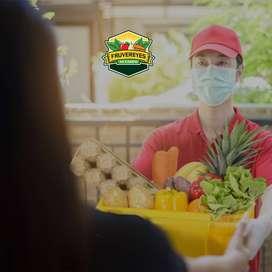 Importante empresa de fruta y verdura, requiere para su equipo de trabajo personal mixto