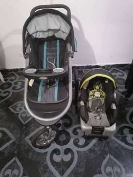 Coche Graco para Bebes  Fast action Fold Jogger Click Connect Baby Travel