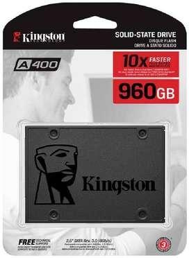 NUEVO!!! Ssd Kingston 960gb A400 Disco De Estado Solido