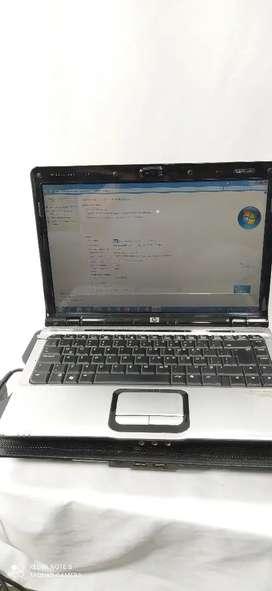 Vendo portátil HP DV2000 todo Trabajando bien.