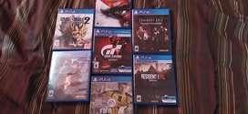 Juegos de PS4 en buena condición
