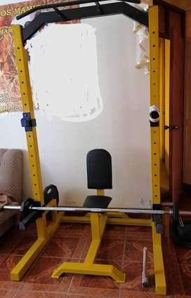 Maquinas para ejercicios