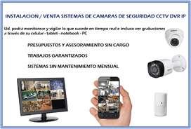 Instalacion Venta Camaras De Seguridad Dvr Ip Monitoreo Cctv