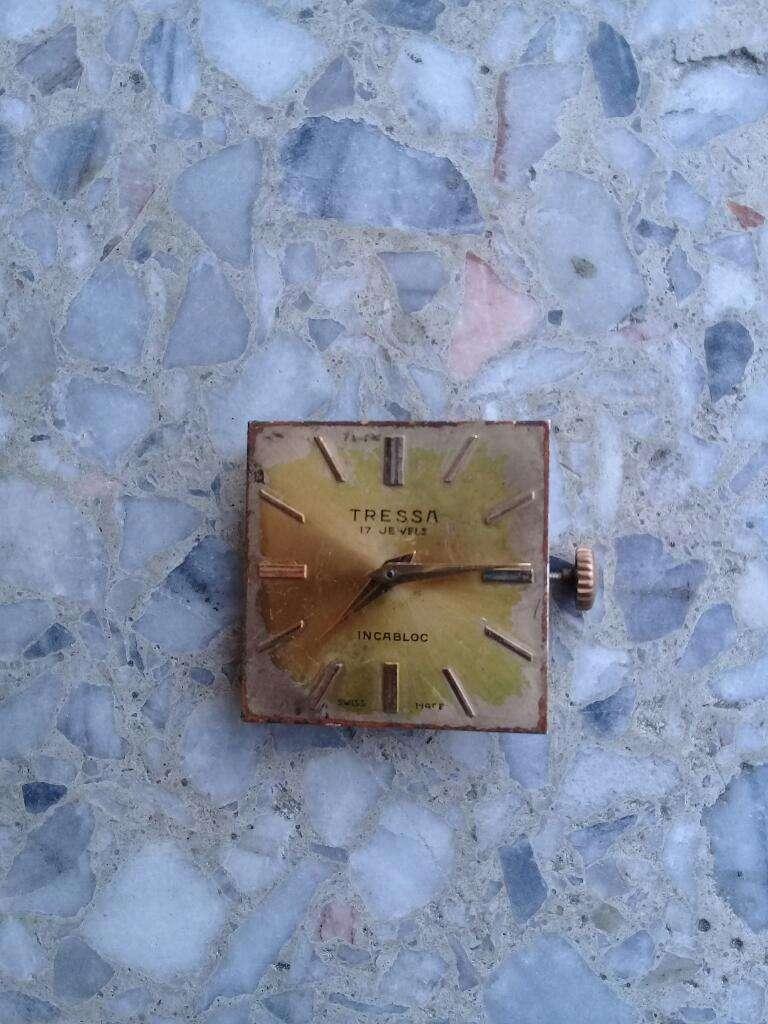 Reloj Tressa a Cuerda Solo La Maquina 0