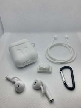 Estuche protector de silicona 5 en 1 TWS AirPods AirPods Pro i12 i14 audífonos