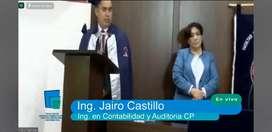 Soy Ingeniero en Contabilidad y Auditoría Cp  recién incorporado con Titulo registrado en el SENESCYT