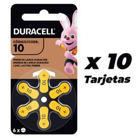 Pilas Duracell #10 Oferta X10 Tarjetas En Arequipa