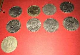 Coleccion rublos conmemorativos URSS