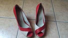 Zapatos Rojos un solo uso (Talle 38)
