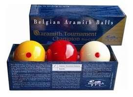 Bolas Billar Belgian Aramith Balls 3 Bandas Profesional