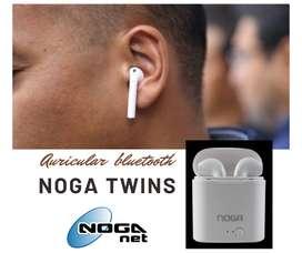 Auriculares bluetooth Noga twins 2, increíble sonido. Con garantía y entrega a domicilio.
