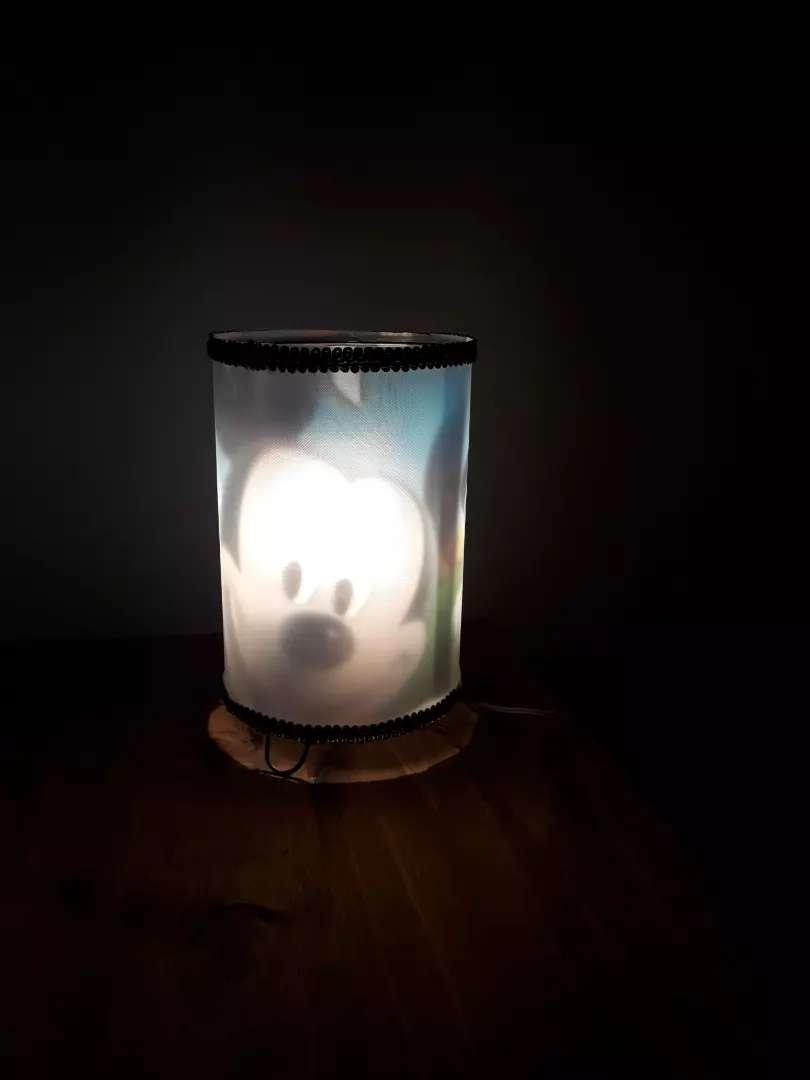 Veladores infantiles con lampara 0