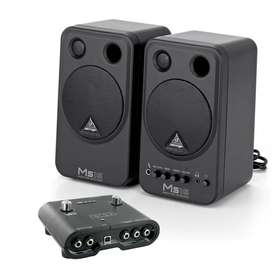 Combo Line 6 ID Interface Audio Monitores Behringer MS16
