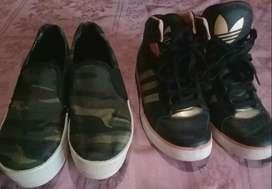 Zapatilla Adidas y Pancha