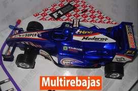 Carro a Control Remoto Con Luz y Sonido De La F1