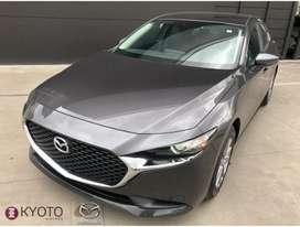 Mazda 3 Sedan Prime Mt 2021 Machine Gray