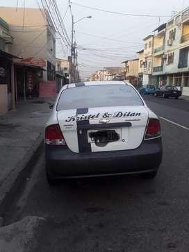 Venta de auto aveo 2012